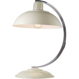 Elstead Lighting 1 Light Desk Lamp Oyster White, E27 Franklin Cream