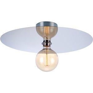 Markslojd Lighting 1 Light Indoor Flush Ceiling Light Chrome, E27 Ma 106157