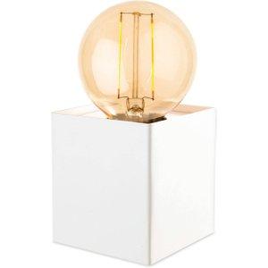 Firstlight Lighting 1 Light Table Lamp White, E27 5926wh