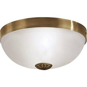 Eglo Lighting 2 Light Traditional Flush Ceiling Light Bronzed, E27 Eg82741