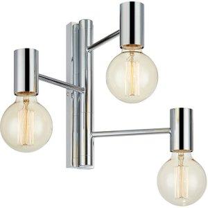 Markslojd Lighting 3 Light Bathroom Wall Lamp Chrome, E27 Ma 107620