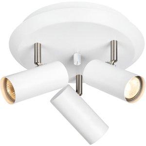 Markslojd Lighting 3 Light Indoor Ceiling Spotlight Cluster Lamp White, Gu10 Ma 107349
