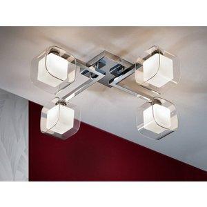 Schuller Lighting 4 Light Flush Ceiling Light Chrome Glass, G9 183320