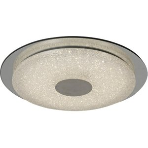 Inspired Lighting Flush Ceiling Light  45cm Round 18w Led 2700-6500k Tuneable, 1680lm, Remote Control White, D M5929