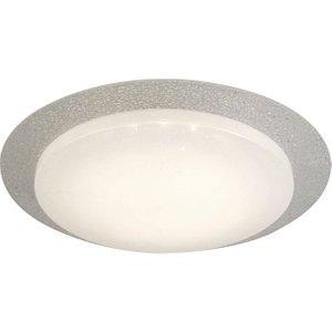 Searchlight Lighting Integrated Led 1 Light Flush Ceiling Light White Glass Shade 1071 36
