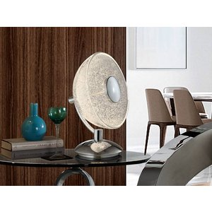 Schuller Lighting Integrated Led Crystal Table Lamp Chrome 726012