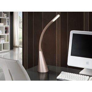 Schuller Lighting Integrated Led Table Lamp, Metallic Champagne 580944
