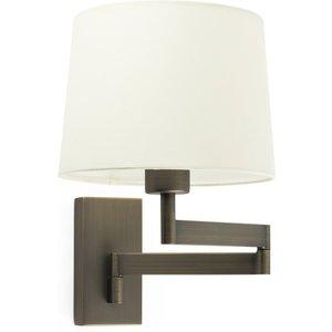 Faro Lighting Wall Light With Shade Bronze, E27 Faro68494 02