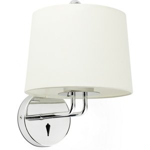 Faro Lighting Wall Light With Shade Chrome, E27 Faro24031 02
