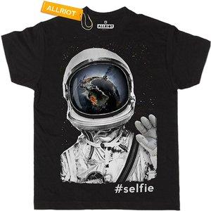 All Riot 'my Last Selfie Ever' Organic T-shirt 393574 Womens Clothing