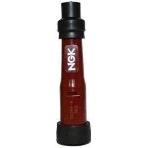 1x Ngk Resistor Spark Plug Cap Sb05f Red (8567)