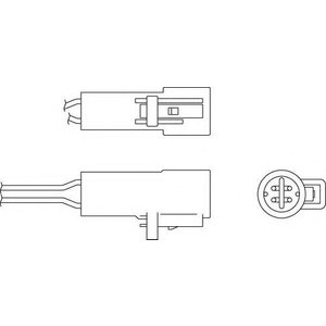 Beru Oph002 / 0824010287 Regulating Probe Heated Oxygen ( O2 ) Lambda Sensor