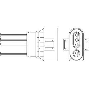 Beru Oph008 / 0824010293 Diagnostic Probe Heated Oxygen ( O2 ) Lambda Sensor