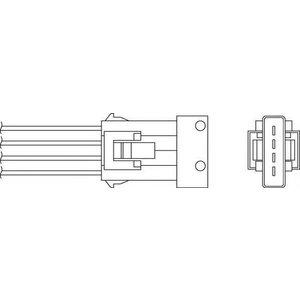 Beru Oph012 / 0824010297 Heated Oxygen ( O2 ) Lambda Sensor Replaces 99660616801