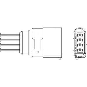 Beru Oph055 / 0824010340 Diagnostic Probe Heated Oxygen ( O2 ) Lambda Sensor