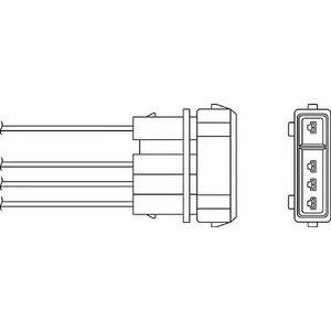 Beru Ozh043 / 0824010045 Regulating Probe Heated Oxygen ( O2 ) Lambda Sensor