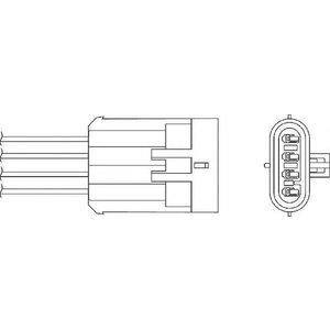 Beru Ozh148 / 0824010182 Regulating Probe Heated Oxygen ( O2 ) Lambda Sensor