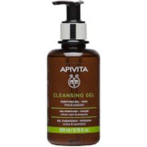 Apivita Cleansing Gel For Oily/combination Skin 200ml Av102200528