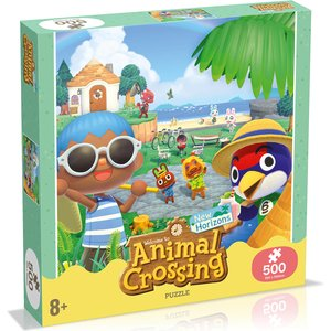 500 Piece Jigsaw Puzzle - Animal Crossing Edition Wm00953 Ml1 6 Games, Puzzles & Learning