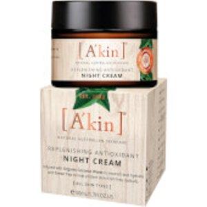 A'kin Replenishng Antioxidant Night Cream 50ml 1430064 Skincare