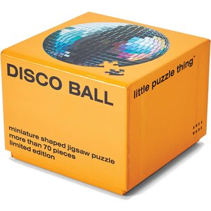 Areaware Little Puzzle Thing Series 3 Jigsaw - Disco Ball Awptl3db Games, Puzzles & Learning, Blue