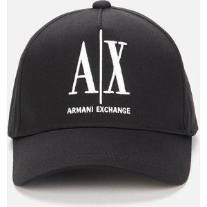 Armani Exchange Men's Icon Baseball Cap - Black 954047cc81100020 Mens Accessories, Black