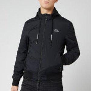 Armani Exchange Men's Logo Jacket - Black - Xxl - Black 8nzb66 Zn97z 1200 Mens Outerwear, Black