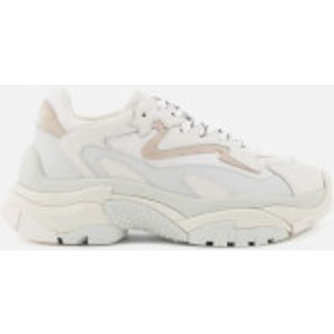 Ash Women's Addict Chunky Running Style Trainers - Off White/white - Uk 5 126379 012 Womens Footwear, White