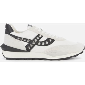 Ash Women's Spider Studs Sustainable Running Style Trainers - White/off White - Uk 6 Fw20 S 133922 008 Mens Footwear, White