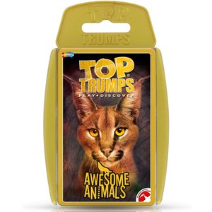Awesome Animals Top Trumps Classics Card Game Wm01528 En1 6 Toy Models