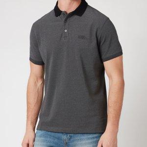 Barbour International Men's Contrast Polo Shirt - Black - Xl Mml1105bk31 Mens Tops, Black