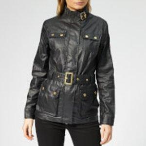 Barbour International Women's Bearings Casual Jacket - Black Tonal - Uk 14 149 Womens Outerwear, Black
