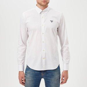 Barbour Men's Beacon Seathwaite Shirt - White - M Msh4321wh11 Mens Tops, White
