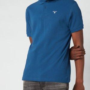 Barbour Men's Sport Polo Shirt - Deep Blue - Xxl Mml0358bl91 Mens Tops, Blue