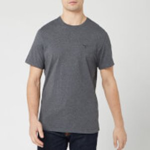 Barbour Men's Sports T-shirt - Grey - Xl Mts0331gy73 Mens Tops, Grey