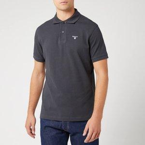 Barbour Men's Tartan Pique Polo Shirt - Navy/dress - Xxl Mml0012ny51 Mens Tops, Blue