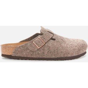Birkenstock Men's Boston Wool Mules - Cacao - Eu 40/uk 7 160581 Mens Footwear, Brown