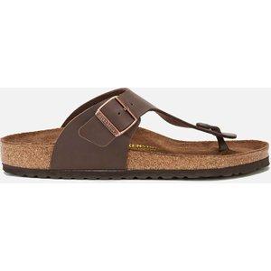 Birkenstock Men's Ramses Toe Post Sandals - Dark Brown - Eu 46/uk 11.5 44701 Mens Footwear, Brown
