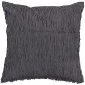 Bloomingville Fringe Detail Cushion - Grey 90178234 Home Accessories, Grey