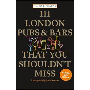 Bookspeed: 111 London Pubs & Bars That You Shouldn't Miss B053038, Black