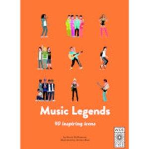 Bookspeed: Music Legends B038181
