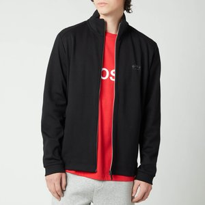 Boss Athleisure Men's Skaz Zip Through Sweatshirt - Black - S 50455095 001 Mens Tops, Black