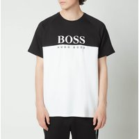 Boss Bodywear Men's Jacquard T-shirt - Black - Xl 50451547 001 General Clothing, Black