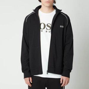 Boss Bodywear Men's Mix&match Regular Fit Zip Through Jacket - Black - Xxl 50379013 008 General Clothing, Black
