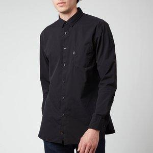 Boss Casual Men's Logo Patch Slim Fit Shirt - Black - Xl 50447949 001 General Clothing, Black