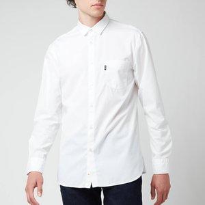 Boss Casual Men's Magneton 1 Long Sleeve Shirt - White - Xl 50447949 100 General Clothing, White