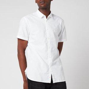 Boss Casual Men's Magneton Short Sleeve Shirt - White - Xxl 50441345 100 General Clothing, White