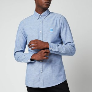Boss Casual Men's Oxford Slim Fit Shirt - Medium Blue - Xxl 50432726 428 General Clothing, Blue