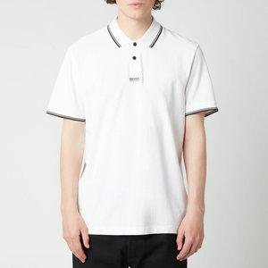 Boss Casual Men's Pchup Polo Shirt - White - M 50449367 100 General Clothing, White