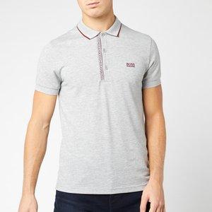 Boss Men's Paule 4 Polo Shirt - Grey - L 50399185 061 Mens Tops, Grey